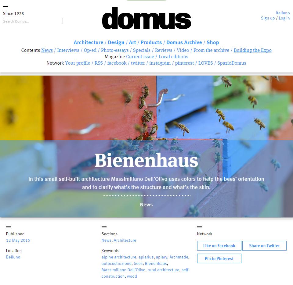 Domus Bienenhaus